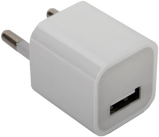 Сетевое зарядное устройство ORIENT PU-2301 1A USB белый