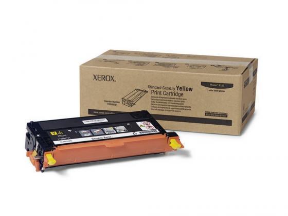 Картридж Xerox 113R00725 для Phaser 6180 желтый 6000стр картридж xerox 113r00725