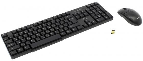 Комплект Oklick 200M черный USB комплект oklick 280m черный usb