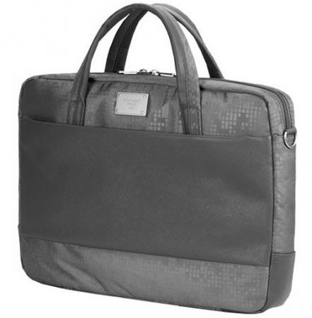 """Сумка для ноутбука 15.6"""" Continent CC-037 Grey полиэстр серый 39.5x29.5x5см сумка для ноутбука 15 6 continent cc 037 black полиэстр"""