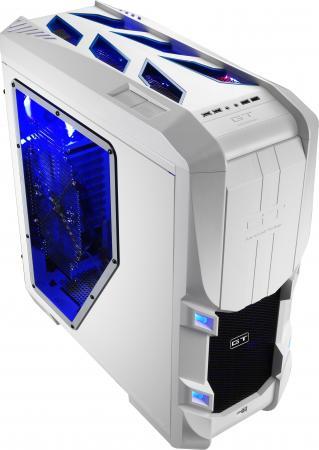 Корпус E-ATX Aerocool GT-S White Edition Без БП белый 4713105952179 цена и фото
