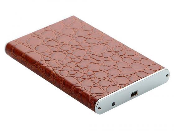 Внешний контейнер для HDD 2.5 SATA Orient 2558 U3 USB3.0 коричневый аксессуар контейнер для hdd orient 2564 u3