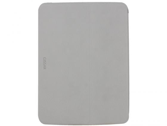 "все цены на  Чехол Gissar Wooden 01421 для Samsung Galaxy Tab3 10.1"" серый кожа  онлайн"