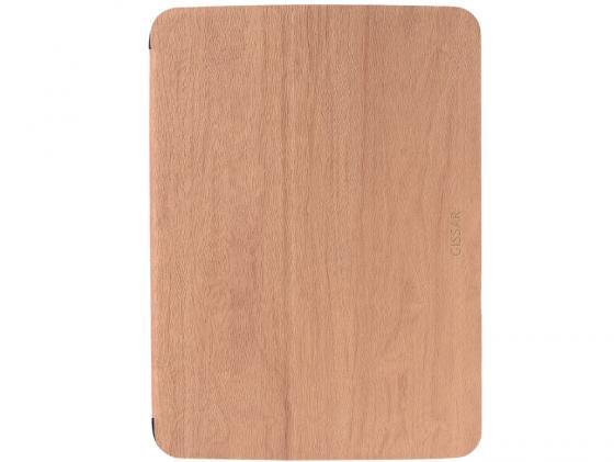 "все цены на  Чехол Gissar Wooden 01469 для Samsung Galaxy Tab3 10.1"" коричневый кожа  онлайн"