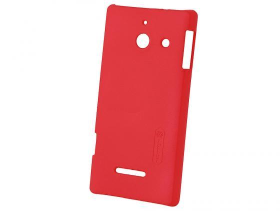 купить Чехол Huawei для Ascend Mate пластиковый красный недорого