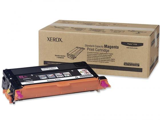 Картридж Xerox 113R00724 для Phaser 6180 пурпурный 6000 страниц xerox тонер 113r00724