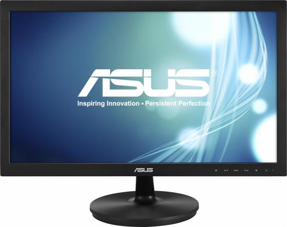Монитор 21.5 ASUS VS228NE черный TFT-TN 1920x1080 200 cd/m^2 5 ms DVI VGA монитор 21 5 asus vs228ne glossy black 90lmd8001t02211c