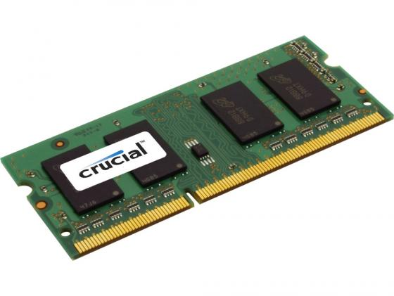 Оперативная память для ноутбука 2Gb (1x2Gb) PC3-12800 1600MHz DDR3 SO-DIMM CL11 Crucial CT25664BF160BJ модуль памяти crucial ddr3l so dimm 1600mhz pc3 12800 cl11 2gb ct25664bf160bj