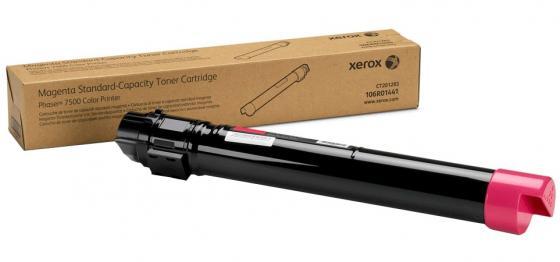Картридж Xerox 106R01441 для Phaser 7500 пурпурный 9600стр летние шины michelin 195 65 r15 91h energy xm2