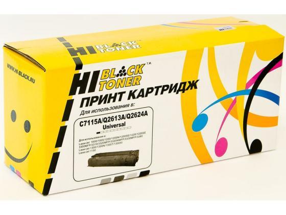 Картридж Hi-Black для HP C7115A/Q2613A/Q2624A LJ 1200/1300/1150 2500стр hi black ce310a 729 1200 стр