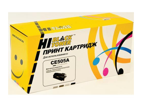 Картридж Hi-Black для HP CE505A LJ P2055/P2035/Canon №719 2300стр картридж colouring cg ce505a 719 для hp lj p2030 p2035 p2050 p2055 p2055d p2055dn canon lbp 6300dn 6650dn mf5840dn 5880dn mf5940 2300стр