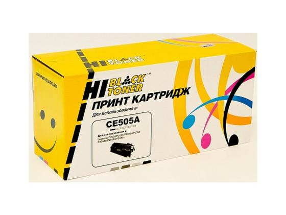 Картридж Hi-Black для HP CE505X LJ P2055/P2050 6500стр hp hp 920