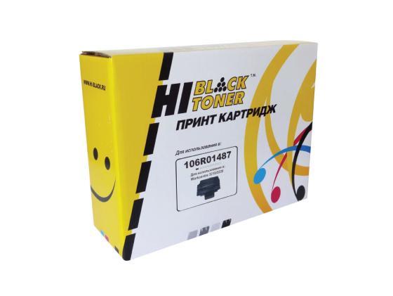 Картридж Hi-Black для Xerox 106R01487 WC 3210/3220 4000стр картридж xerox 106r01487 для wc 3210 3220 чёрный 4100 страниц