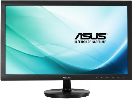 Монитор 23.6 ASUS VS247NR черный TFT-TN 1920x1080 250 cd/m^2 5 ms DVI VGA монитор 21 5 asus ve228tlb черный tft tn 1920x1080 250 cd m^2 5 ms dvi vga аудио usb
