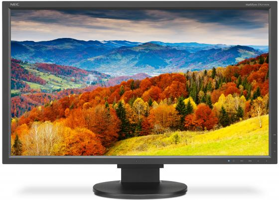 Монитор 27 NEC EA273WMI черный AH-IPS 1920x1080 250 cd/m^2 6 ms VGA DVI HDMI DisplayPort Аудио USB монитор 24 nec e245wmi белый pls 1920x1200 250 cd m^2 6 ms vga dvi displayport аудио
