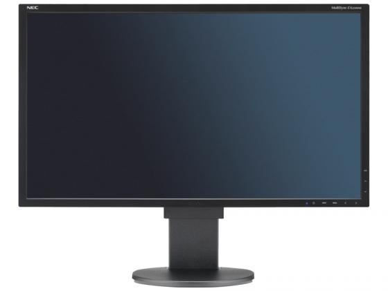 Монитор 24 NEC EA244WMI черный IPS 1920x1200 350 cd/m^2 5 ms VGA DVI HDMI DisplayPort USB Аудио монитор nec 24 accusync as242w as242w