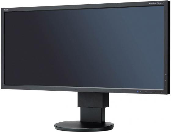 Монитор 29 NEC EA294WMI черный IPS 2560x1080 300 cd/m^2 6 ms DisplayPort DVI HDMI VGA Аудио USB монитор 24 asus pa248qj черный ips 1920x1200 300 cd m^2 6 ms hdmi displayport vga аудио usb dvi 90lmg0150q50081e
