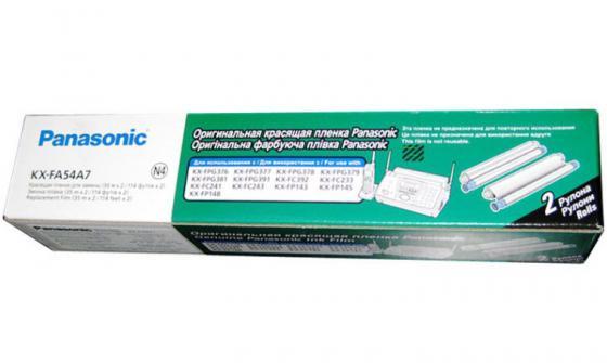 Фото - Термопленка для факса Panasonic KX-FA54A7 2шт машинка для стрижки волос panasonic panasonic er gb80