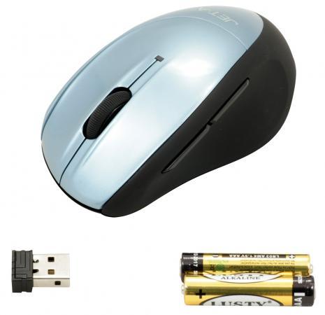 Мышь беспроводная Jet.A Black Style OM-U26G синий USB