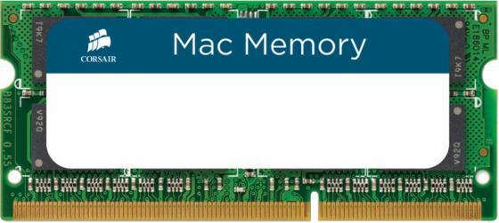 Оперативная память для ноутбуков SO-DDR3 8Gb PC12800 1600MHz Corsair CMSA8GX3M1A1600C11 оперативная память ddr3 2gb pc12800 1600mhz crucial ct25664bd160bj