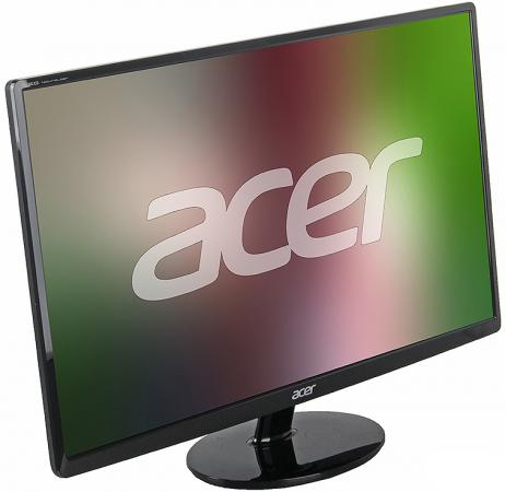 Монитор 27 Acer S271HLDBID черный VA 1920x1080 300 cd/m^2 6 ms DVI HDMI VGA Аудио монитор 27 benq ew2775zh черный a mva 1920x1080 300 cd m^2 4 ms g t g hdmi vga аудио