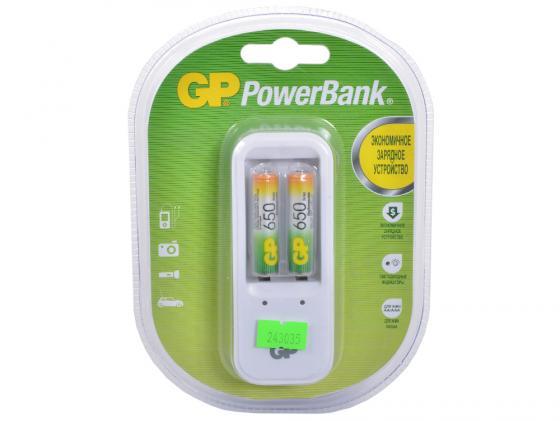 Фото - Зарядное устройство + аккумуляторы 650 mAh GPBI PB410GS65-2CR2 AAA 2 шт зарядное