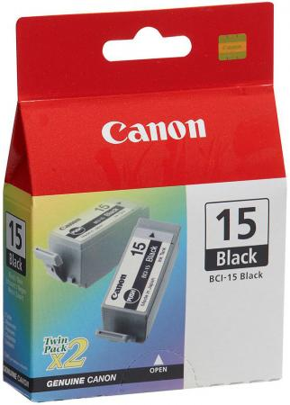 Картридж Canon BCI-15Bk черный для Canon BJ-i70 2pack canon bci 16 color twin pack
