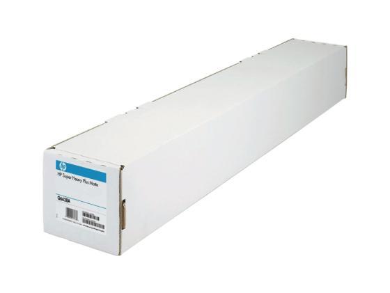 Бумага HP Q6628B Матовая для струйной печати сверхплотная высшего качества 42(A0+)/1067мм х 30.5м/210г/м2/рул. бумага для плоттера xerox 1067мм х 40м 120г м2 рулон для струйной печати 450l90117