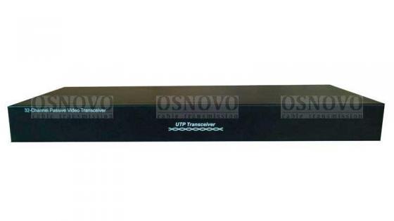 Приемопередатчик видеосигналов OSNOVO TP-C32 32-канальный по витой паре 600 м приемопередатчик видеосигналов osnovo tp c32 32 канальный по витой паре 600 м