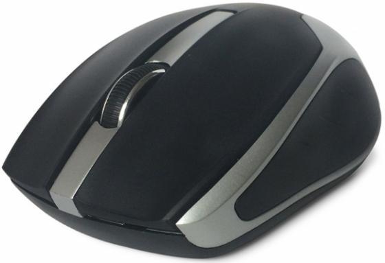 Мышь беспроводная CBR CM 422 чёрный USB мышь беспроводная cbr m 547 жёлтый usb