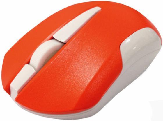 все цены на Мышь беспроводная CBR CM 422 оранжевый USB онлайн