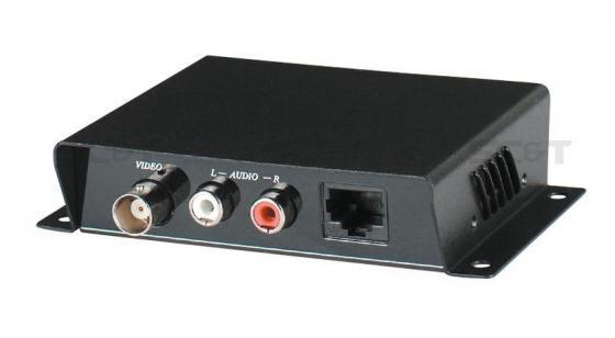 Приемопередатчик SC&T TTP111AV 1 видео и 2 аудио сигнала по витой паре на 600 м kicx sc 600 1