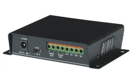 Передатчик видео и аудио сигнала SC&T TTA111AVT вход для управления поворотным устройством вход для датчика питание 12В для устройств по витой паре на 2400 м google i apple daut tolchok video na ekranah smartfonov