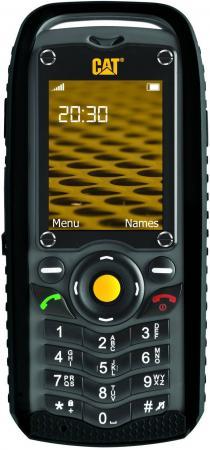 Мобильный телефон Caterpillar Cat B25 черный серый 2.2 512 Мб мобильный телефон ark benefit u281 белый 2 8 32 мб 3 симкарты