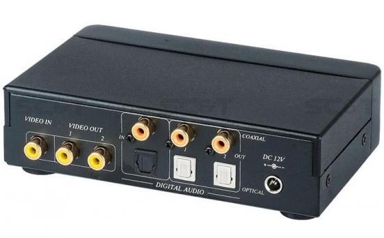 Разветвитель SC&T CD02D видеосигнал + цифровой аудио 1 вход/2 выхода 1хRCA видео 1хRCA цифр. аудио оптический аудио порт Toslink cd диск guano apes offline 1 cd