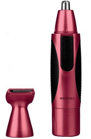 Триммер Maxwell MW-2801 OG коричневый триммер для носа и ушей maxwell mw 2801