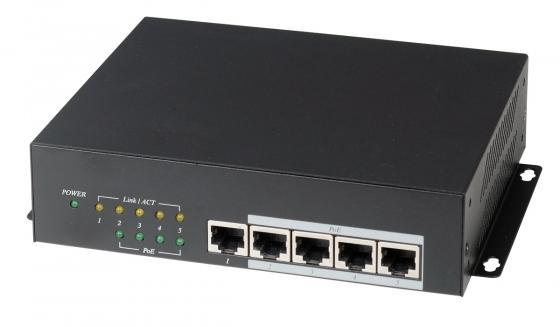 Коммутатор SC&T IP06H High PoE 4-портовый 10/100/1000M