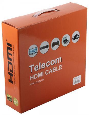 Кабель HDMI 25м VCOM Telecom THD6020E/CG5110/CG511D круглый черный цена