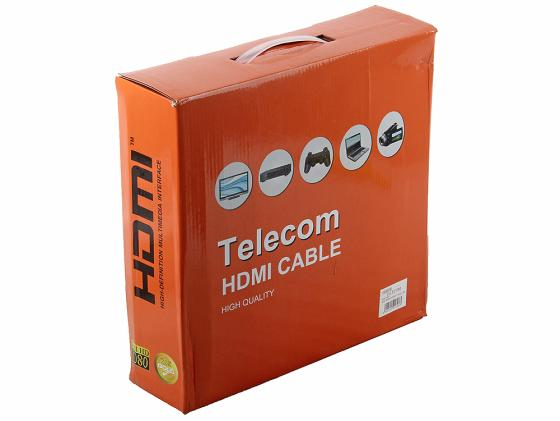 Кабель HDMI 30.0м Telecom v1.4B THD6020E-30m CG511D hdmi 30m hdmi transmitter receiver signal extender black