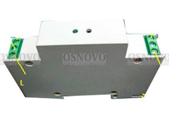Устройство защиты OSNOVO SP-DCD/24 для цепей питания 24В на Din-рейку