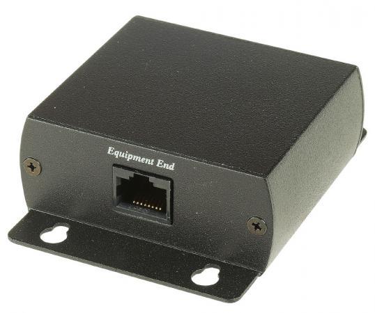 Устройство грозозащиты SC&T SP006 для локальной вычислительной сети и шин передачи данных систем безопасности 1 вход RJ45-мама/1 выход RJ45-мама lk sp412003a b100 le40l109 01 lkp sp006 good working tested
