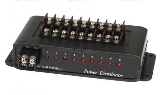 Распределитель SC&T PD009 для цепи питания 1 вход на 9 выходов соединительное звено цепи taya 7 8 скоростей 1 2x3 32 1 комплект блистер sc 23