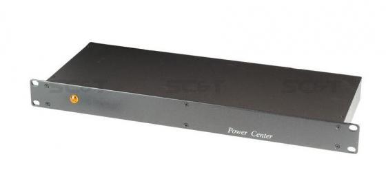 Блок питания SC&T PR801 на 1 канал для монтажа в 19 стойку 1U 1 вых на AC 24V 8A