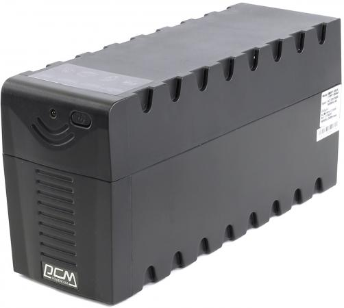 ИБП Powercom RPT-800AP Raptor 800VA/480W AVR USB ибп powercom raptor rpt 1025ap 615вт 1025ва черный