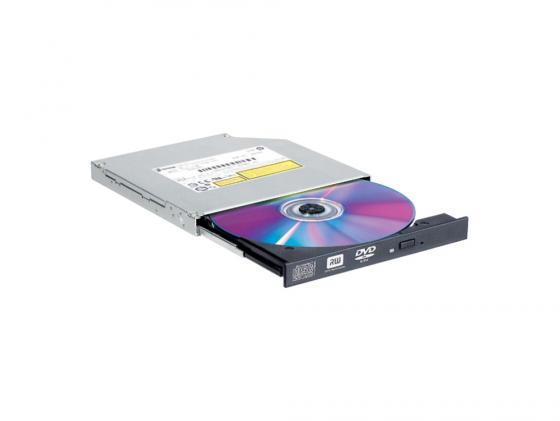 Привод для ноутбука DVD±RW LG GTA/B/C-0N Slim SATA черный OEM привод для ноутбука blu ray lg bu40n sata черный oem