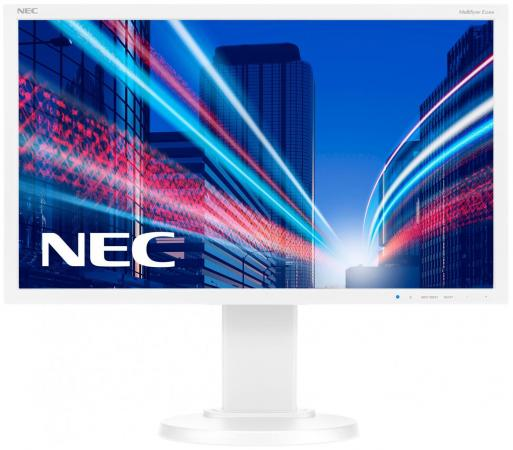 Монитор 21.5 NEC E224Wi белый AH-IPS 1920x1080 250 cd/m^2 6 ms DVI DisplayPort VGA Аудио монитор 30 nec pa302w bk sv2 ah ips led 2560x1600 7ms dvi hdmi displayport