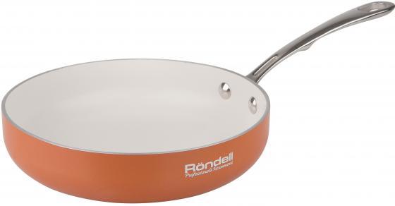 Сковорода Rondell Terrakotte 20см RDA-523 сковорода б кр rda 523 terrakotte 20 см штампованный алюминий руч нерж сталь rondell