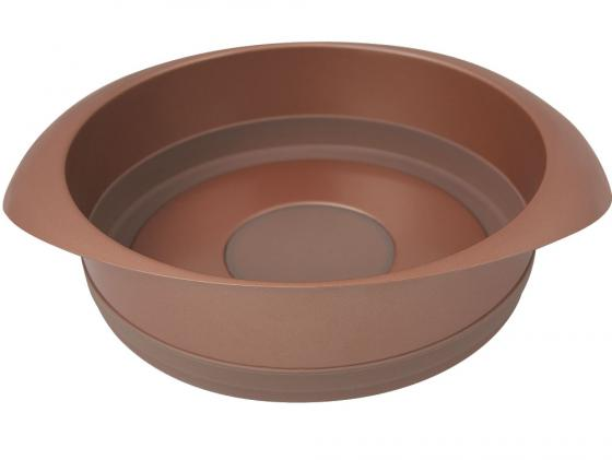 Форма для выпечки Rondell Karamelle RDF-447 22 см круглая 416rdf посуда для запекания rondell квадратная с решеткой rdf 416