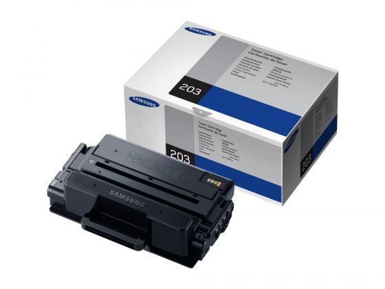 все цены на Картридж Samsung MLT-D203 для SL-M4020/4070 MLT-D203U/SEE черный 15000стр онлайн