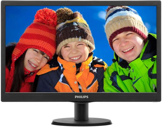 Монитор 20 Philips 203V5LSB2/26/62/10 черный TFT-TN 1600x900 200 cd/m^2 5 ms VGA